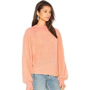 Fp movement peach sweater